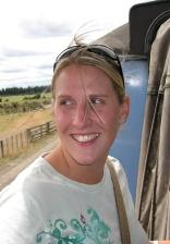 Lorraine McMillan Travelling on the Overlander Train in New Zealand