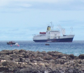 The Royal Mail Ship St Helena